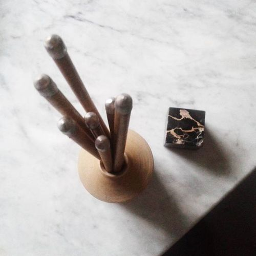 Buongiornomondo Marmo Mygarden Bacchette Cotto Whitecolor Quadrato Rotondo