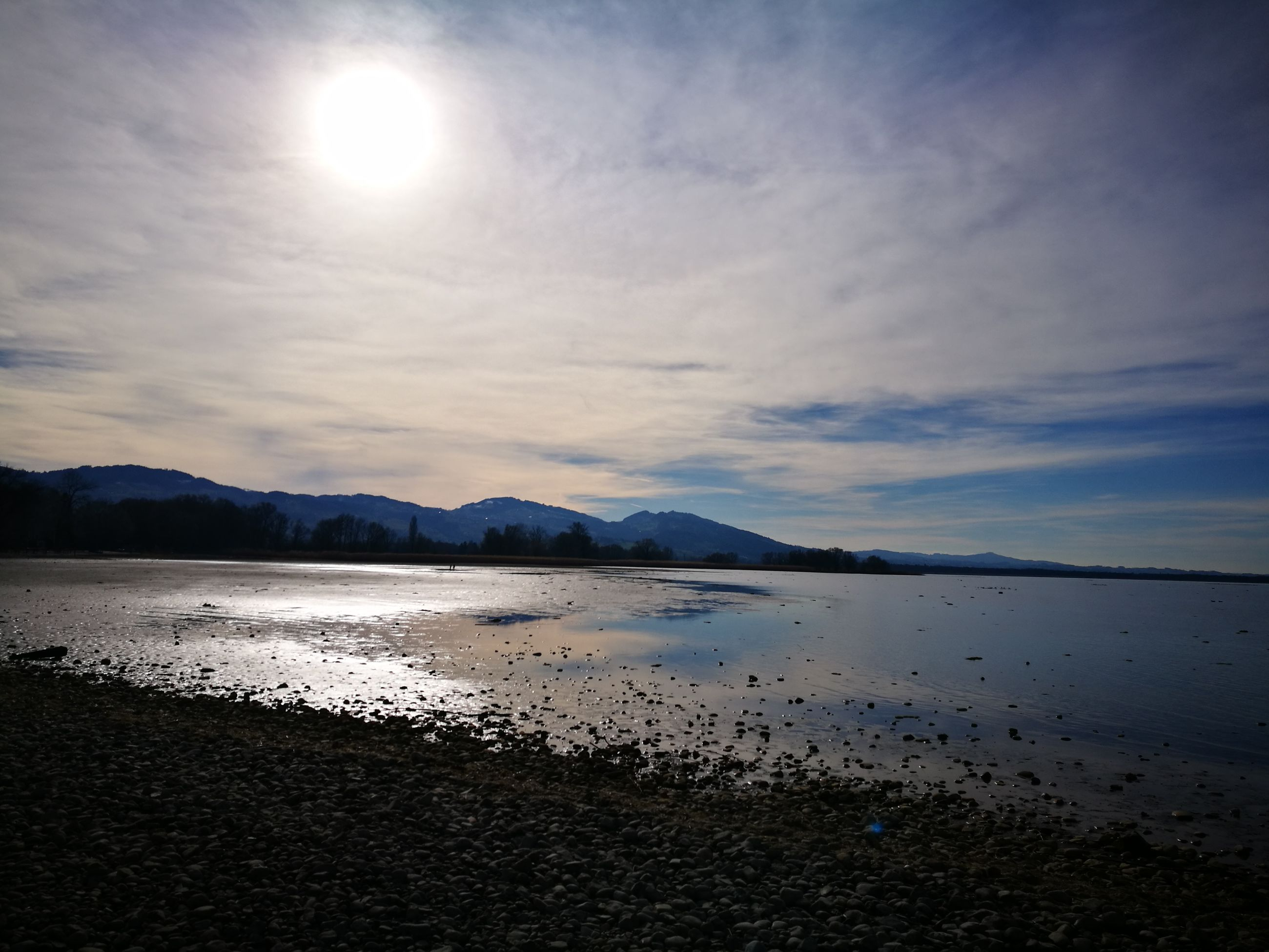 nature, beauty in nature, sea, sky, mountain, outdoors, scenics, no people, water, sunset, cloud - sky, beach, day