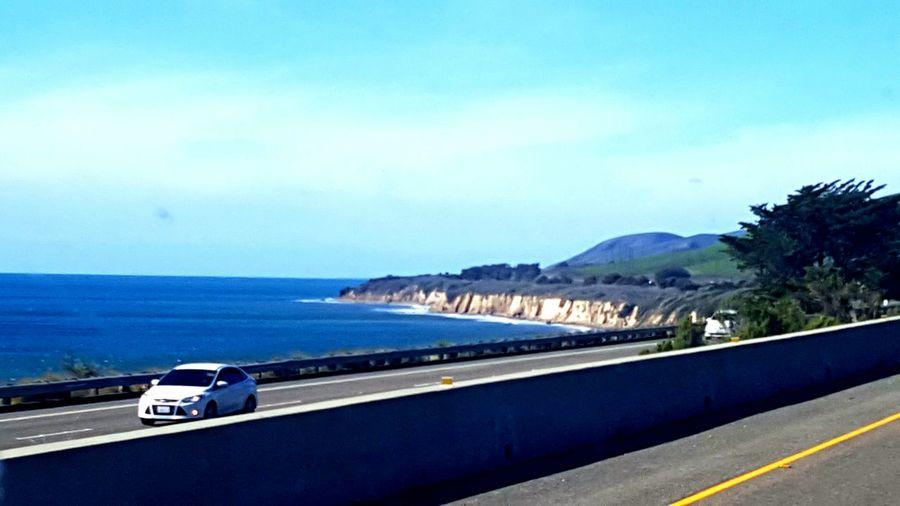 Pacific Ocean California Coast Highway 101