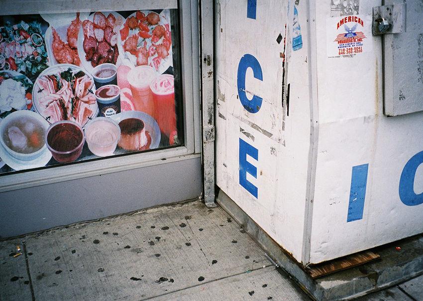 Ice Minimalism Brooklyn Troutmanstreet 35mm Film Analogue Photography Staybrokeshootfilm NYC