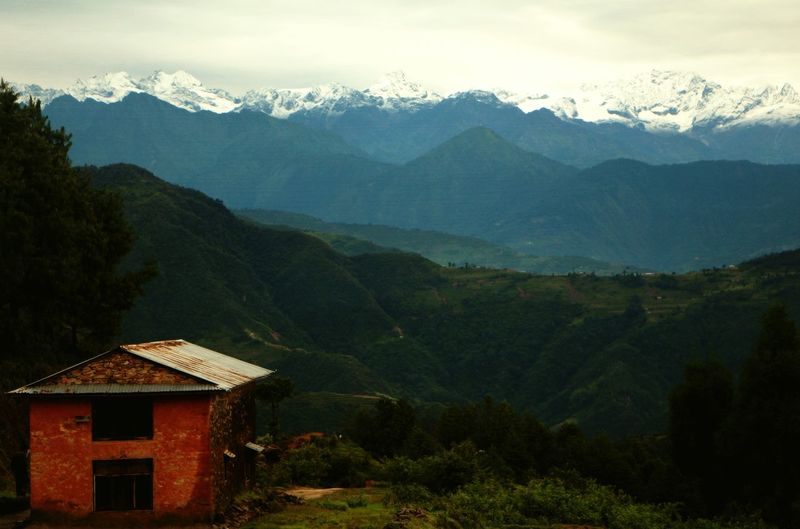 Beautiful Nepal Travelphotography Urban Nature Mountains And Sky