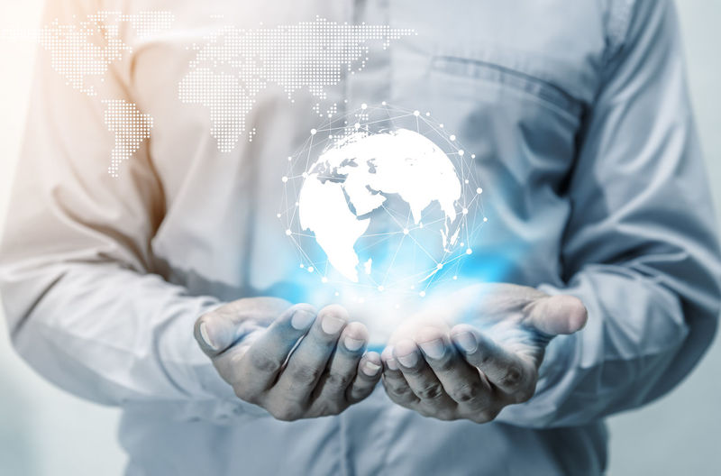Save world save life concept Business Earth Inovation. Life Virtual Communication Connect Connected Connection Environment Glowing Hand Holding Human Hand Men Network Networking One Person People person Save Savings Technology Transparent World