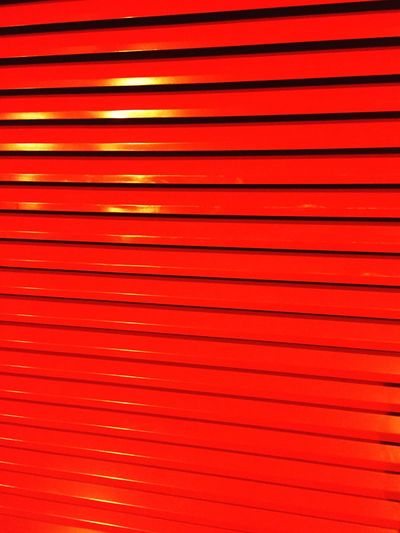 Streetphotography Red Striped Backgrounds Pattern Vibrant Color Abstract No People Futuristic Lines Technology Illuminated Neon Lines&Design Linework Paris Day