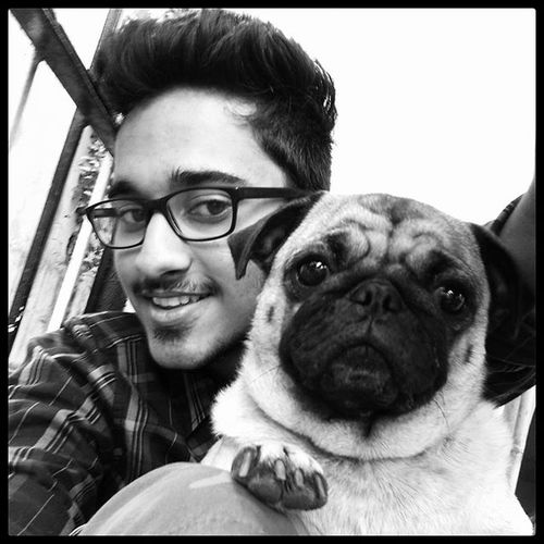 Me And Cookiee Pet Love Puggy Pug Bnw Instagood . Instalove Cuteness Onher Face Instadaily Instalike Instalove Dog Dogsofinstagram Paw