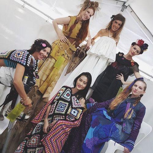 behind the scene Behindthescenes Models Brisbane Southbank Stilts