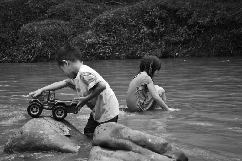 Water Nature Lifestyles BARIO Family Vacation Kids Having Fun Kids Playing Kids Playground Village Photography Village Life Village People Real Life Real People Eyem Best Shots Childhood