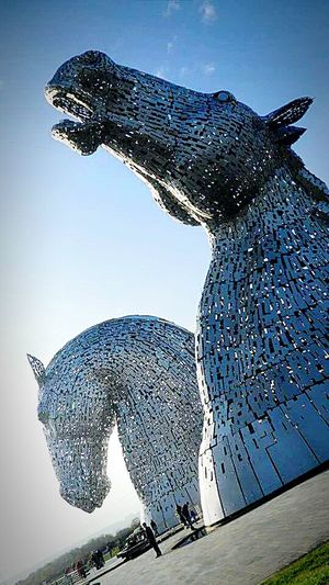 The Kelpies Horses Metal Sculpture Stunning Horse Life Water Horse Artistic