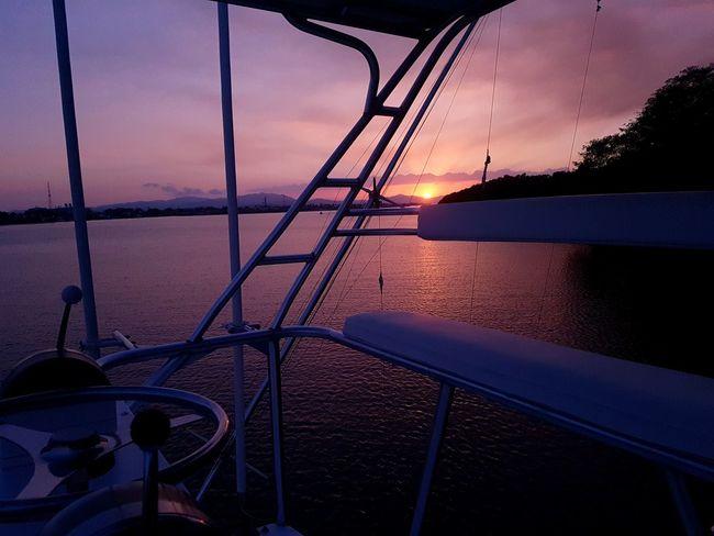 Puerto azul Puerto Port Yacht Boat Sky Puntarenas Costarica Nature Nautical Vessel