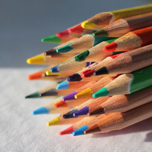 let's color the world. Colors Pencil Still Life Tadaa Community The Color Of School