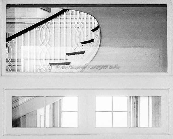 """©Ann Norsworthy """"b a c k s t a i r s"""" EyeEm Best Shots - Architecture Light And Shadow IoLIGHTstudios"""