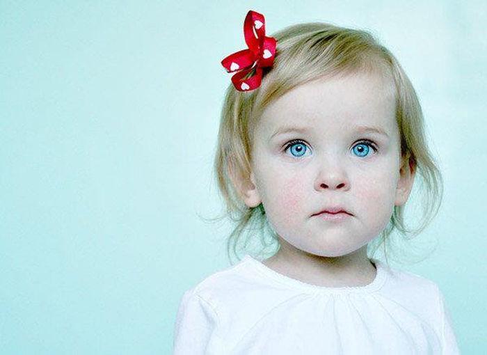 First Eyeem Photo Child Girl Headshot Looking At Camera Blue Eyes