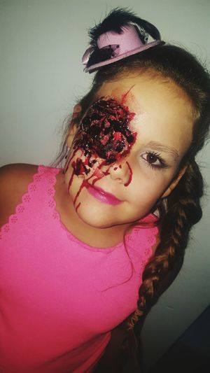 One Person Pink Color Lipstick Halloween Horrors Halloween EyeEm Halloween 2016 Halloween Horror Nights