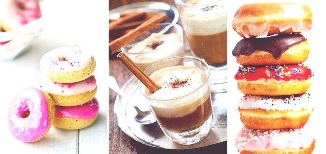Пусть ваша жизнь будет такой же красочной и сладкой как эти пончики ^-^ мыслитолькооеде