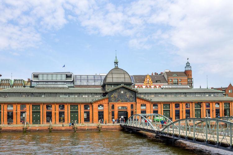 Fischmarkt, Hamburg, Germany Architecture Hamburg Travel Building Building Exterior Fischauktionshalle Fischhalle Fischmarkt Fischmarkt Hamburg Travel Destinations