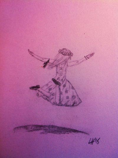 I draw when I'm bored and this is one of the ' I'm bored ' pics . Drawing