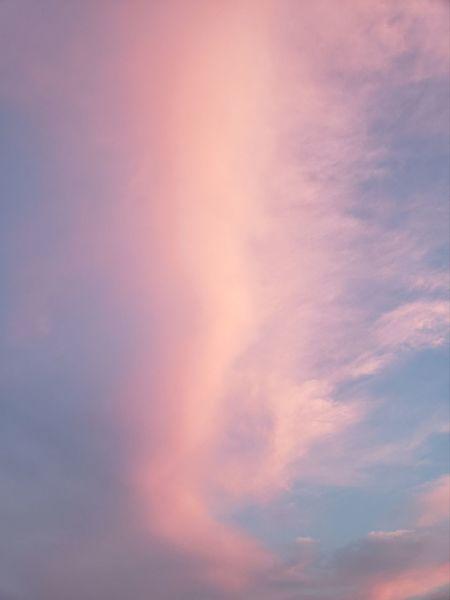 Sailors Delight Pink Color Twlight Sunset Multi Colored Backgrounds Sky Only Space Dramatic Sky Sky Cloud - Sky Heaven Cloudscape Moody Sky Wispy Fluffy Atmospheric Mood Cumulus Stratosphere Cumulonimbus Cumulus Cloud