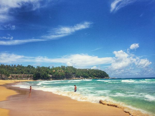 Beachphotography Beach Time Beach Walk Iphone 6 Plus Iphoneonly IPhoneography Karon Beach Phuket People