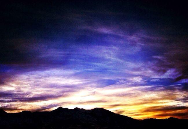 Beautiful SnowBasin ... Snowbasin Sunset BeautifulSunset Colorfulclouds