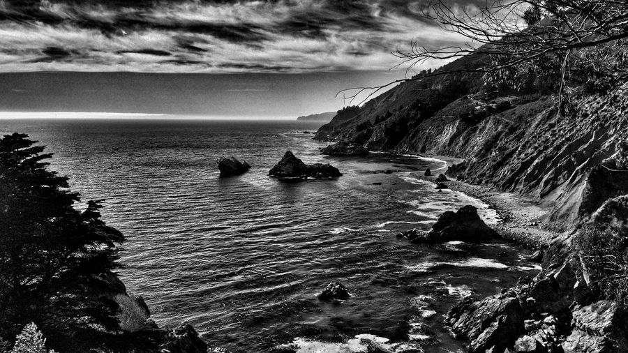 Blackandwhite Ocean Notes From The Underground saw whales breaching here
