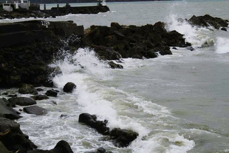Perspectives On Nature Water No People Sea Landscape Nature Wave Motion Outdoors Beach Beauty In Nature Day