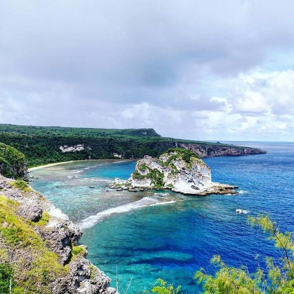 Bird Island lookout~ Saipan Northern Mariana Islands Travel Destinations Summer Tranquility Tranquil Scene Scenics Landscape Beauty In Nature Nature Outdoors No People Vacations Horizon Over Water Cloud - Sky Tree Sea Blue Water PhonePhotography Samsungphotography EyeEmNewHere