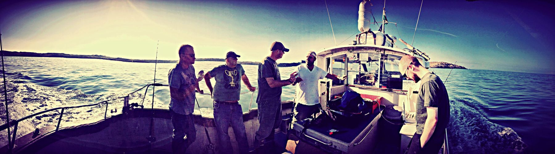 Hanging Out Fishing Fishing Boat Great Day