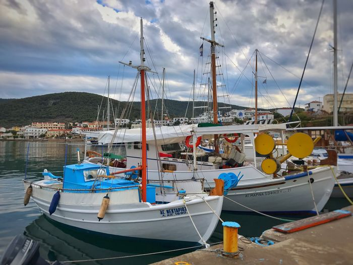 Cruising in Angistri Docks