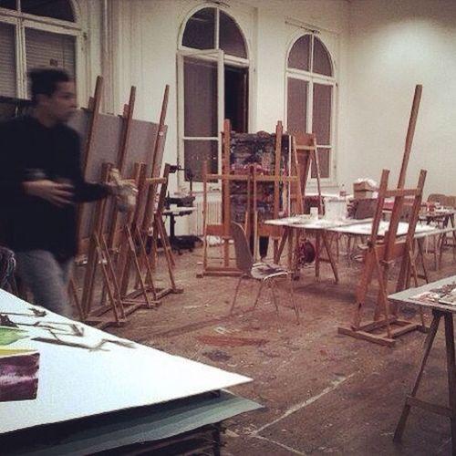 Atelier // rotefabrik Painting Ffzh Switzerland Rote Fabrik