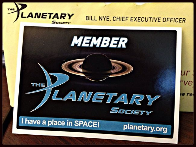 Snail Mail I don't mind getting. The Planetary Society Bill Nye