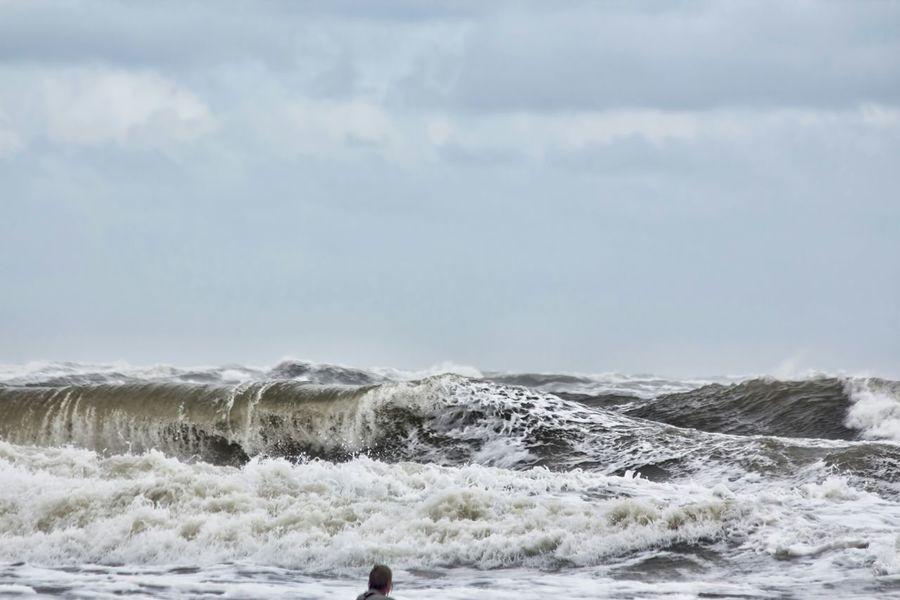 Langeoog Meer Waiting For The Waves Germany Summer 2015  Nordsee Der Blanke Hans Beach Sea Beach Waves Done That.