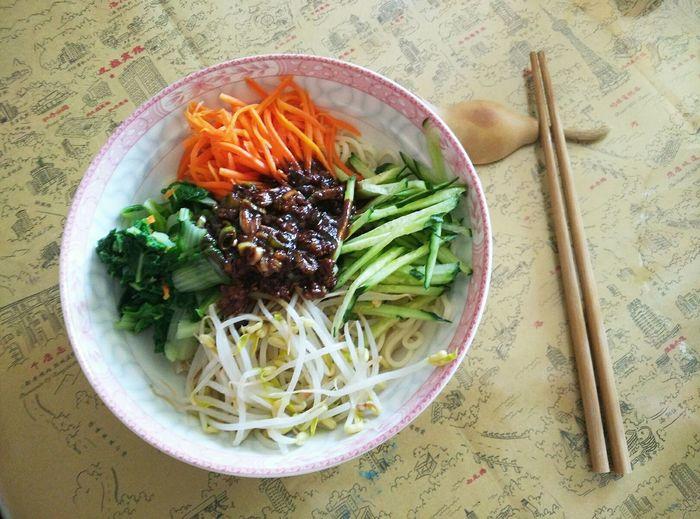 老北京杂酱面 Food In My Mouf Enjoying A Meal Enjoy A Meal Noodles