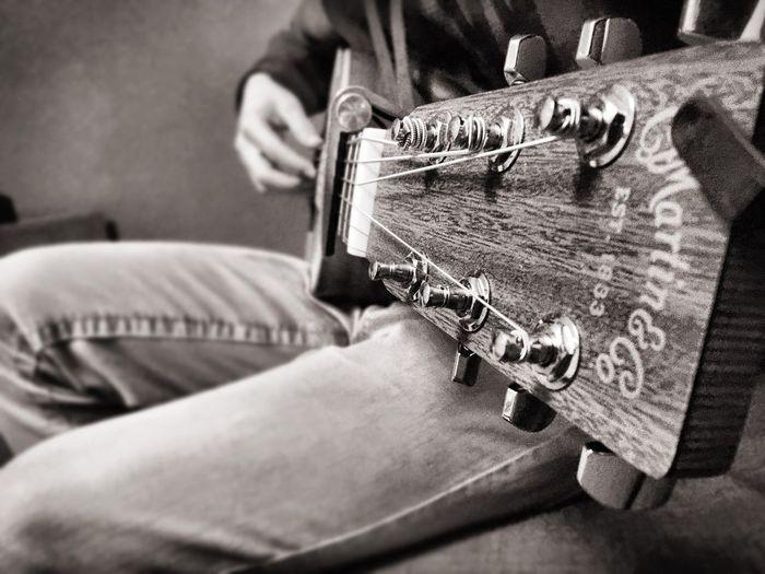 Guitar Guitarist MartinGuitar Blackandwhite