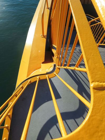 Ferry Details Yellow Pattern