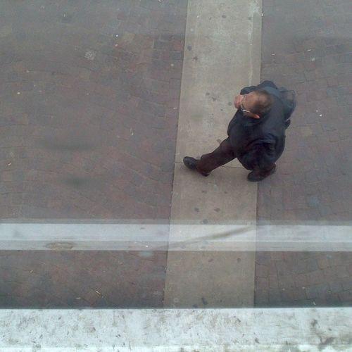 Retoque Hombre Calle Picado