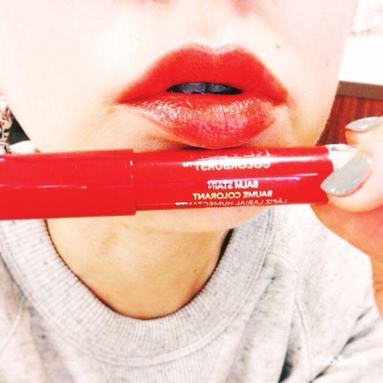 Orange Lips NewLipstick Revlon Favorite Lipstick That's Me Taking Photos