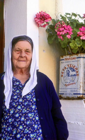 An Old Woman from Corfu Greece Corfiot CORFU ISLAND Corfu, Greece Elderly Woman Greek Greek Woman Ionianislands Kerkyra Kerkyra_corfu Greece Lifestyles Looking At Camera Mediterranean Culture One Person Outdoors Portrait Real People Senior Adult Smiling Travel Photography Vertical