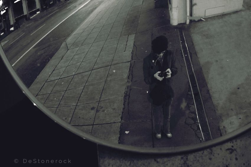 Reflection Mirrorselfie Selfie ✌ Selfies Walking Around Citylife Nightlife Photography Taking Photos Camera Practice Testing Camera Streetphotography Black & White Streetphoto_bw Blackandwhite Black And White