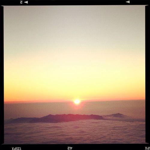 ご来光。 富士山 Mt. Fuji