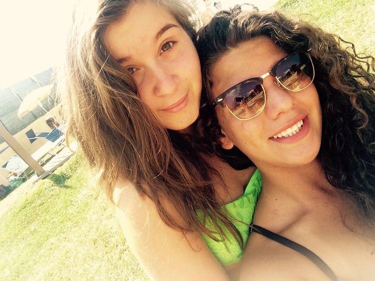 Me Bestfriend Us Fun Summer Italy Enjoying Life Swimming Pool Sun Sweetlife