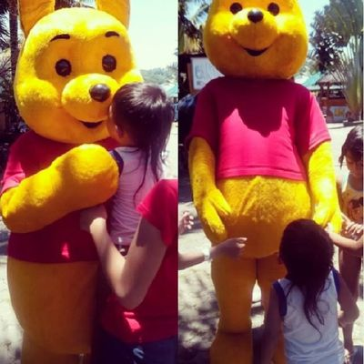 This shows how Kobe loves Pooh!