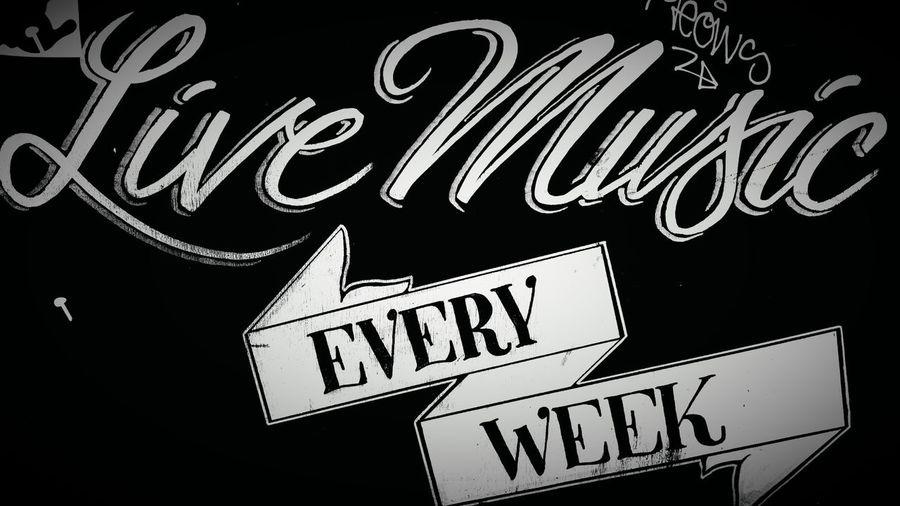 #black&white . #blackandwhite #britishpub #music #photography #signage #streetphotography #typography Communication Information Sign Symbol Text