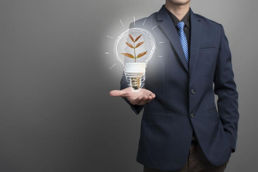 Businessman Communication Conservation Creativity Energy Idea Knowledge Light Lighting Equipment Power Save The World Savetheplanet Technology Tree
