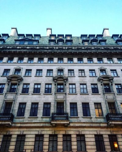 Classical architecture Architecture_collection Architecture Architecturelovers Architectural Feature Bakerstreet London Building Building Exterior Buildings & Sky