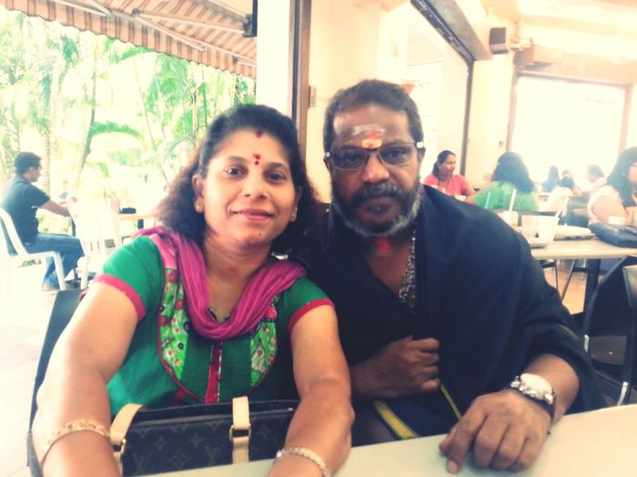 My parents.. the only ones who will catch me when i fall... Love them to bits