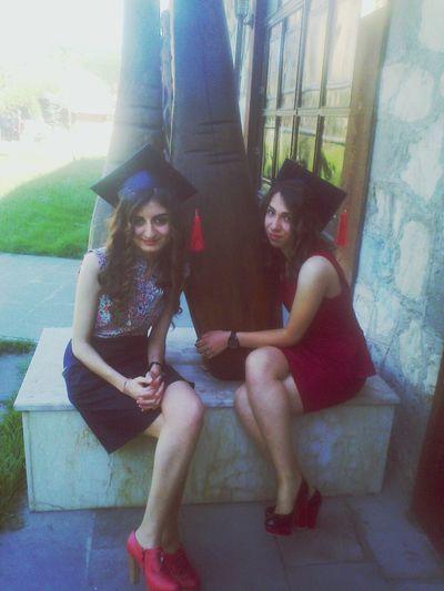 mezuniyetten :)