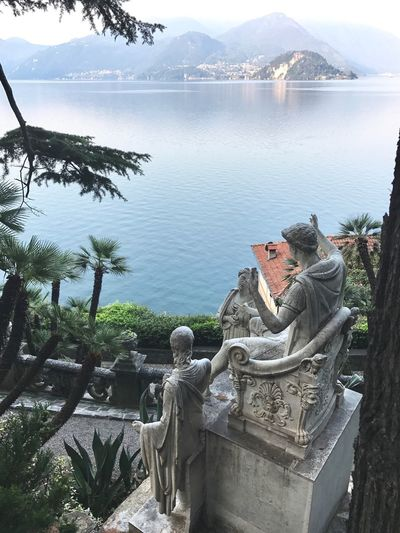 Bellagio's view from Varenna 8474881