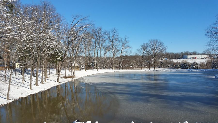 Taking Photos Frozen Pond Nature_collection Enjoying Nature January2016 Winter Scenery Landscape Winterscapes First Snowfall 2016 Its Cold Outside Baby Its Cold Outside