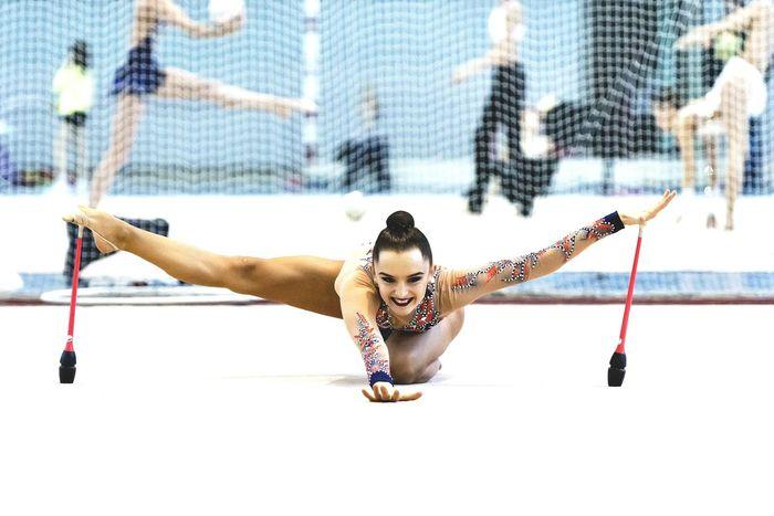 Sport Gymnastics❤ RG Spartak Russian Nsk Russian Federation Rhythmic Gymnastics Life счастьеесть