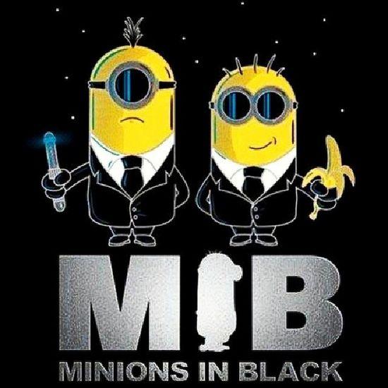 Biz ekibi oluşturduk ya :)) Minioninblack Meninblack Despicableme Kuzen