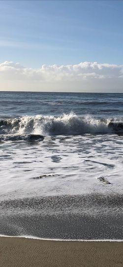 Morning Ocean Nature_collection Nature Nature Photography Good Morning Morning Sea Water Sky Beach Horizon Over Water Horizon Land